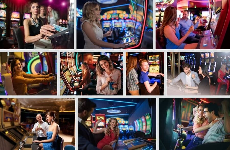 casino tourism pictures photocollage