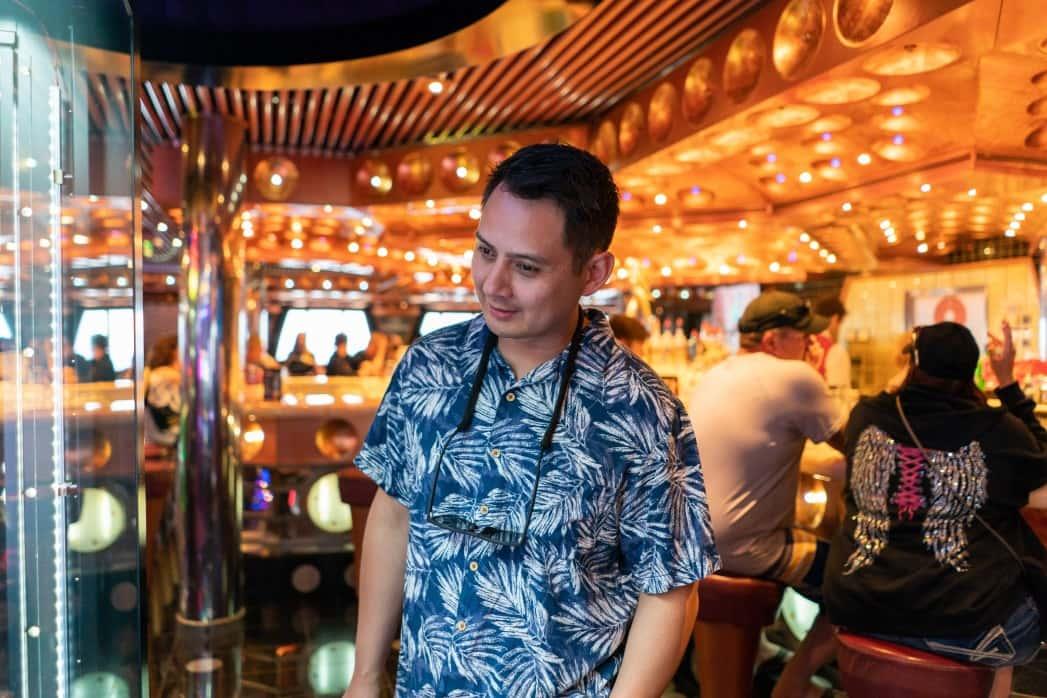 man in las-vegas casino